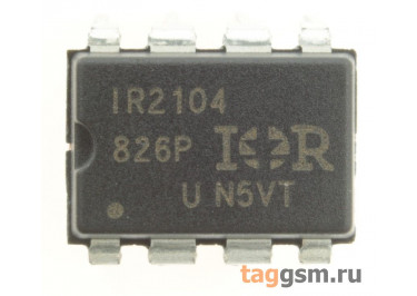 IR2104PBF (DIP-8) Драйвер транзисторов