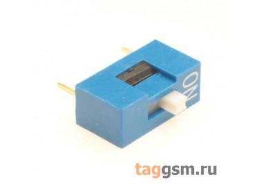 KF1001-01P-B0-FS (Синий) DIP переключатель 1 поз. 24В 0,025А
