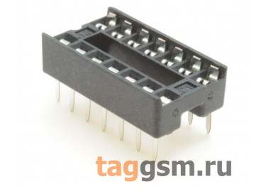 DS1009-14AT1NX-0A2 (DIP-14) DIP панель 14 конт. ширина 7,62мм