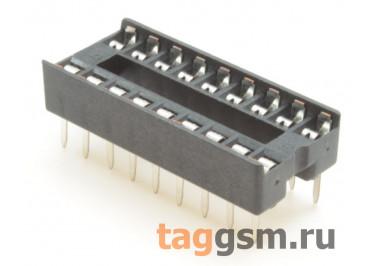 DS1009-18AT1NX-0A2 (DIP-18) DIP панель 18 конт. ширина 7,62мм