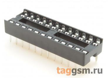 DS1009-24AT1NS-0A2 (DIP-24) DIP панель 24 конт. ширина 7,62мм