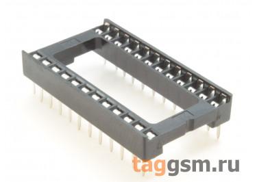 DS1009-24AT1WX-0A2 (DIP-24) DIP панель 24 конт. ширина 15,24мм