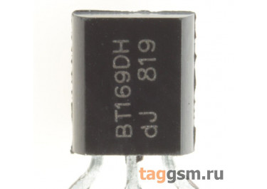BT169D (TO-92) Тиристор 0,8А 400В