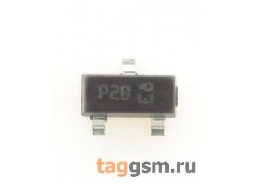 P0102BL5AA4 (SOT-23) Тиристор 0,25А 200В