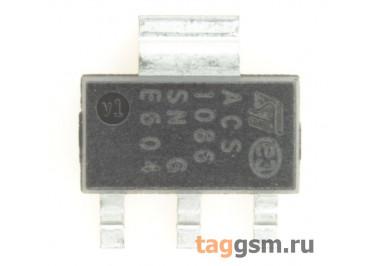 ACS108-6SN (SOT-223) Симистор 0,8А 600В