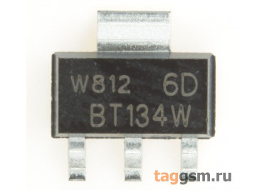 BT134W-600D (SOT-223) Симистор 5мА 1А 600В