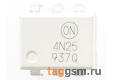4N25 (DIP-6) Оптопара транзисторная