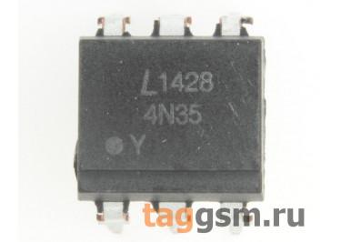 4N35 (DIP-6) Оптопара транзисторная