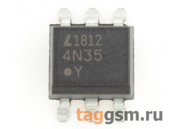 4N35S (DIP-6 SMD) Оптопара транзисторная