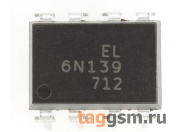 6N139 (DIP-8) Оптопара транзисторная