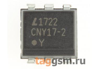 CNY17-2 (DIP-6) Оптопара транзисторная