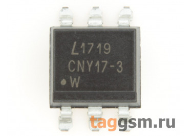 CNY17-3S (SMD-6) Оптопара транзисторная