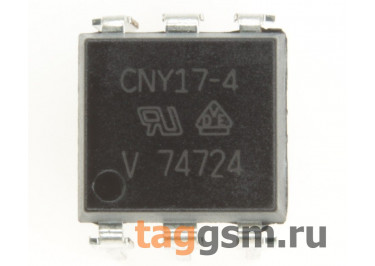 CNY17-4 (DIP-6) Оптопара транзисторная