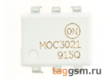 MOC3021M (DIP-6) Оптопара симисторная 400В