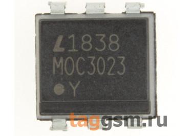 MOC3023 (DIP-6) Оптопара симисторная
