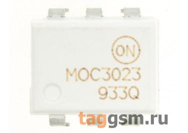 MOC3023M (DIP-6) Оптопара симисторная 400В