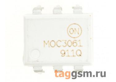 MOC3061M (DIP-6) Оптопара симисторная 600В