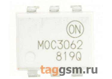 MOC3062M (DIP-6) Оптопара симисторная 600В