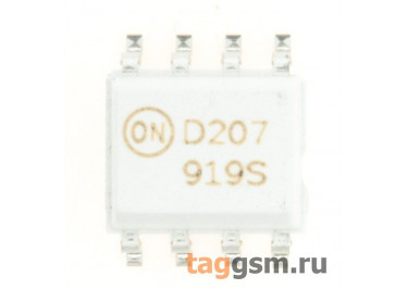 MOCD207R2M (SO-8) Оптопара транзисторная сдвоенная