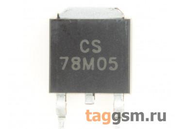 78M05 (D-PAK) Стабилизатор напряжения 5В 0,5А