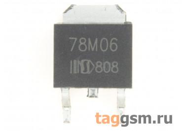 78M06 (D-PAK) Стабилизатор напряжения 6В 0,5А