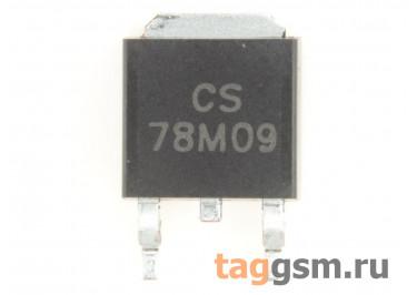 78M09 (D-PAK) Стабилизатор напряжения 9В 0,5А