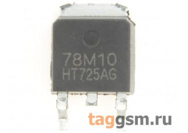 78M10 (D-PAK) Стабилизатор напряжения 10В 0,5А
