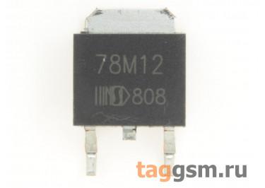 78M12 (D-PAK) Стабилизатор напряжения 12В 0,5А