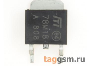 78M18 (D-PAK) Стабилизатор напряжения 18В 0,5А
