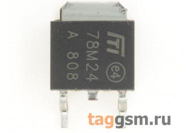 78M24 (D-PAK) Стабилизатор напряжения 24В 0,5А