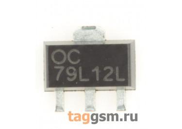 79L12 (SOT-89) Стабилизатор напряжения -12В -100мА