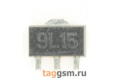 79L15ACF (SOT-89) Стабилизатор напряжения -15В -100мА