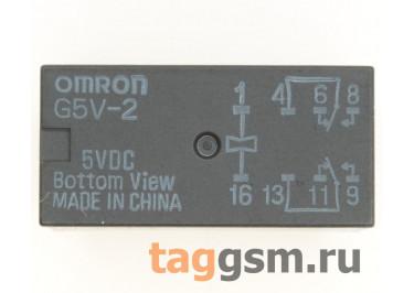 G5V-2 5VDC Реле 5В DPDT