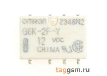 G6K-2F-Y 12VDC Реле 12В DPDT