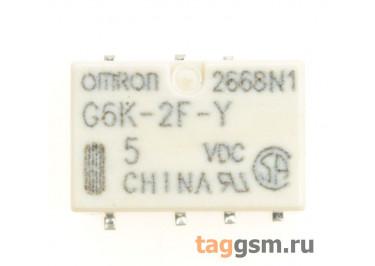 G6K-2F-Y 5VDC Реле 5В DPDT