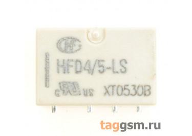 HFD4 / 5-LSR Реле 5В DPDT [IM43TS / 5-1462037-8]