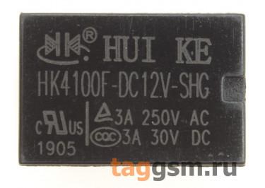 HK4100F-DC12V-SHG Реле 12В SPDT