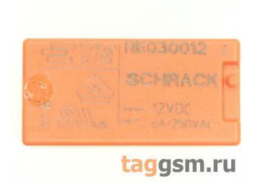 RE030012 (1393217-4) Реле 12В SPST-NO