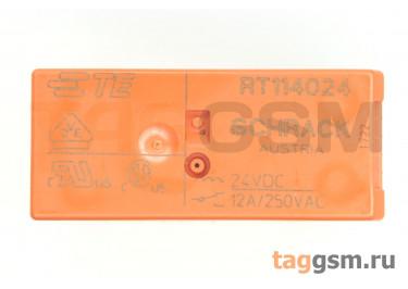 RT114024 (1-1393239-3) Реле 24В SPDT