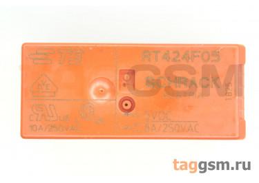 RT424F05 (5-1393243-2) Реле 5В DPDT