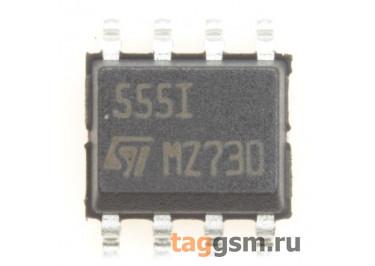 TS555IDT (SO-8) Таймер с низким потреблением 100мкА