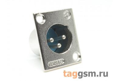 XLR-1290 Аудио разъем XLR вилка на панель