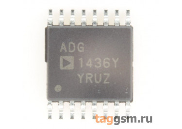 ADG1436YRUZ (TSSOP-16) Коммутатор аналогового сигнала