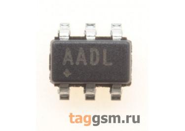 MAX4624EUT+T (SOT-23-6) Коммутатор аналогового сигнала 1-канал