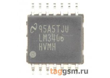 LM3406HVMHX (TSSOP-14) Контроллер подсветки светодиодов