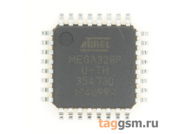 ATmega328P-AU (TQFP-32) Микроконтроллер 8-Бит, AVR