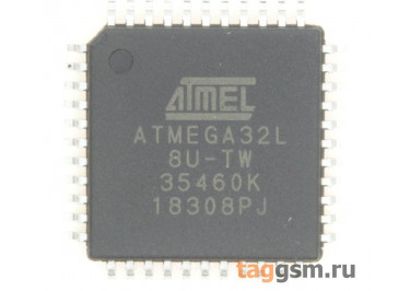ATmega32L-8AU (TQFP-44) Микроконтроллер 8-Бит, AVR