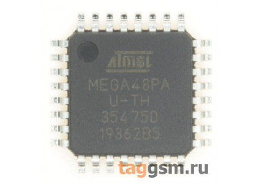 ATmega48PA-AU (TQFP-32) Микроконтроллер 8-Бит, AVR