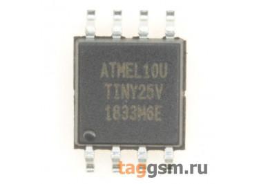 ATtiny25V-10SU (SO-8) Микроконтроллер 8-Бит, AVR