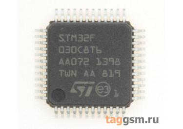 STM32F030C8T6 (LQFP-48) Микроконтроллер 32-Бит, ARM Cortex-M0